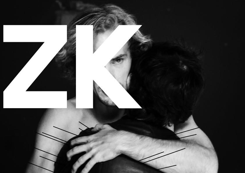 """ZK brothers hug with lines - Ośrodek Praktyk Teatralnych """"Gardzienice"""""""