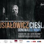 Plakat wystawy rzeźb i obrazów Henryka Musiałowicza oraz Fotografii Macieja Cieślaka
