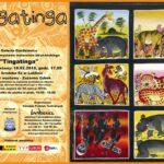 Plakat wystawy malarstwa afrykańskiego