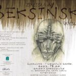 Plakat wystawy Zdzisława Beksińskiego