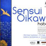 Plakat wystawy Sensui Oikawa